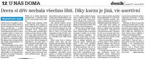 Karlovarský deník, 27. 2. 2015