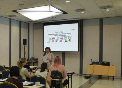 Seminář pro kolektiv zdravotnického zařízení Centra celostní péče v Plzni